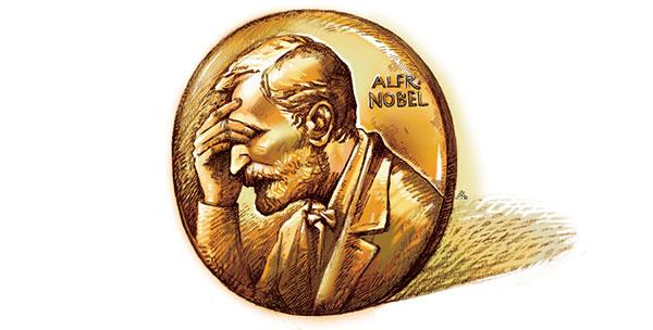 你能给自己提名诺贝尔奖吗?