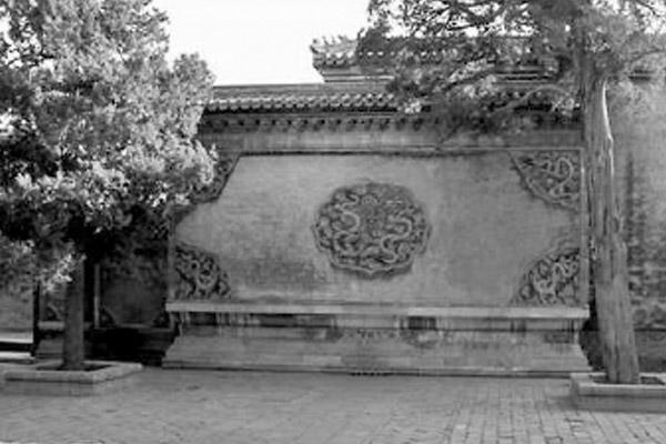 老北京的影壁